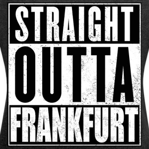 Strait_Outta_Frankfurt - Women's T-shirt with rolled up sleeves
