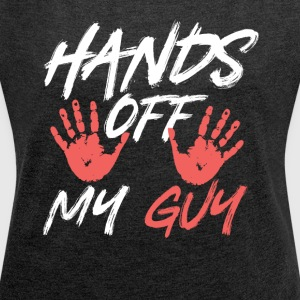 Hands way friend - Women's T-shirt with rolled up sleeves