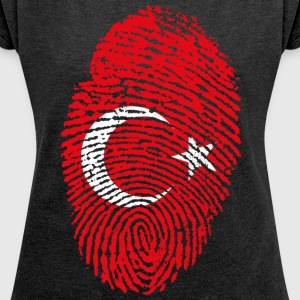 TURKEY 4 EVER COLLECTION - Women's T-shirt with rolled up sleeves