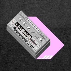 303 Love Pink #TTNM - Women's T-shirt with rolled up sleeves