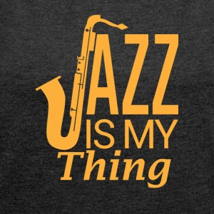 Jazz - My Passion - Dame T-shirt med rulleærmer