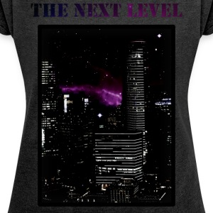 The Next Level - Women's T-shirt with rolled up sleeves