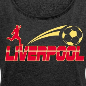 Liverpool Soccer - Women's T-shirt with rolled up sleeves