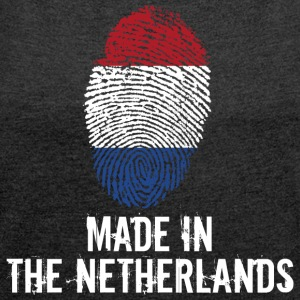 Made In The Netherlands / Netherlands Nederland - Women's T-shirt with rolled up sleeves