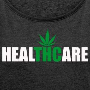 Healthcare THC - Women's T-shirt with rolled up sleeves
