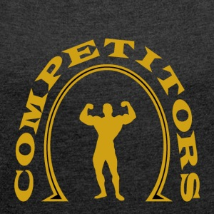 Competitors Gold - Women's T-shirt with rolled up sleeves
