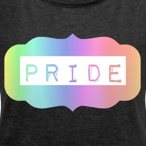 Old Town Pride - Women's T-shirt with rolled up sleeves