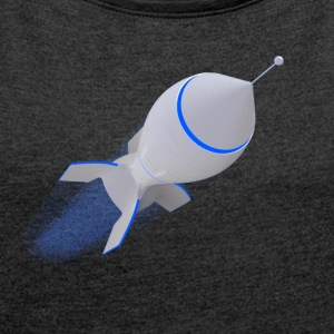 rocket - Women's T-shirt with rolled up sleeves