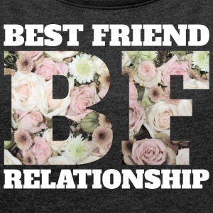 Best Friend Relationship - Women's T-shirt with rolled up sleeves