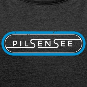Pilsensee Oval 2 - Women's T-shirt with rolled up sleeves