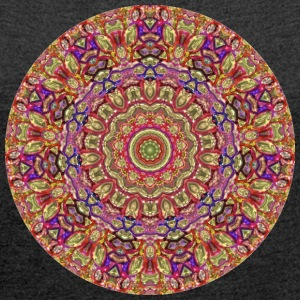 Mandala collection - Women's T-shirt with rolled up sleeves