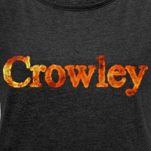 Crowley - Women's T-shirt with rolled up sleeves