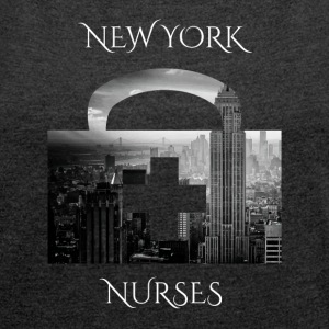 New York Nurses NY nurses - Women's T-shirt with rolled up sleeves