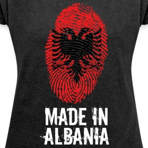 Made in Albania / Made in Albania - Women's T-shirt with rolled up sleeves