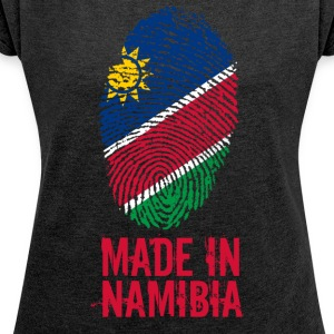 Made In Namibia - Women's T-shirt with rolled up sleeves