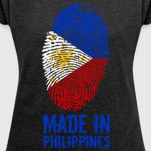 Made In Philippines / Philippines / Pilipinas - Women's T-shirt with rolled up sleeves