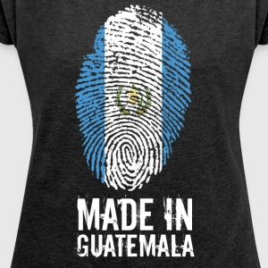 Made In Guatemala - Women's T-shirt with rolled up sleeves