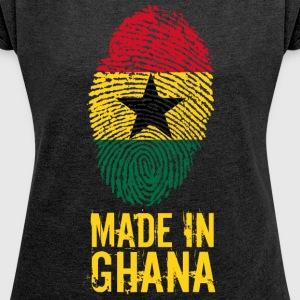 Made in Ghana / Made in Ghana - T-shirt Femme à manches retroussées