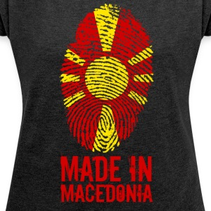 Made in Macedonia / Made in Macedonia - Women's T-shirt with rolled up sleeves