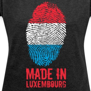 Made in Luxembourg / Made in Luxembourg - T-shirt Femme à manches retroussées