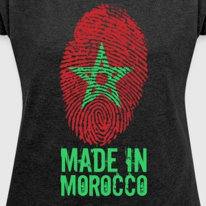 Made in Morocco / Made in Morocco المغرب - Women's T-shirt with rolled up sleeves