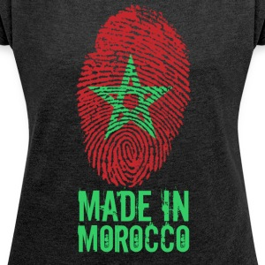 Made in Marocco / Made in Morocco المغرب - Maglietta da donna con risvolti