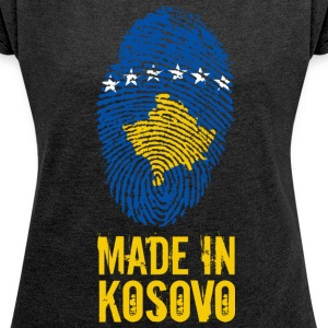 Made in Kosovo / Made in Kosovo Kosova Kosovë - Women's T-shirt with rolled up sleeves