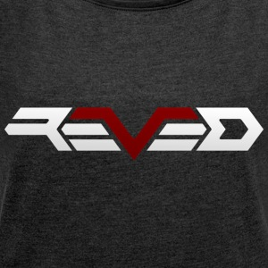 Reved - Women's T-shirt with rolled up sleeves