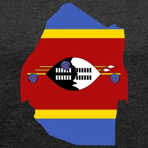 swaziland collection - Women's T-shirt with rolled up sleeves
