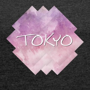 Tokyo - Women's T-shirt with rolled up sleeves