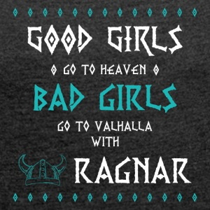 Bad Girls - Women's T-shirt with rolled up sleeves