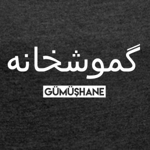 Gumushane - Women's T-shirt with rolled up sleeves
