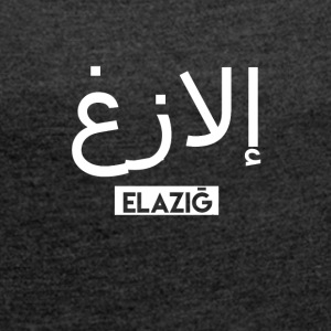 Elazig - Women's T-shirt with rolled up sleeves