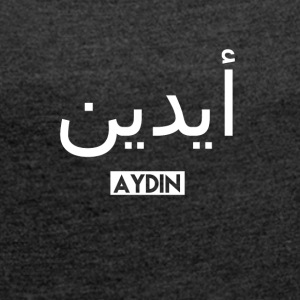 Aydin - Women's T-shirt with rolled up sleeves