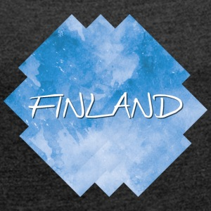 Finland - Finland - Women's T-shirt with rolled up sleeves