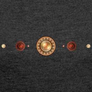 apophysis pearls - Women's T-shirt with rolled up sleeves