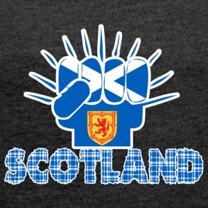 Scotland Power - Women's T-shirt with rolled up sleeves