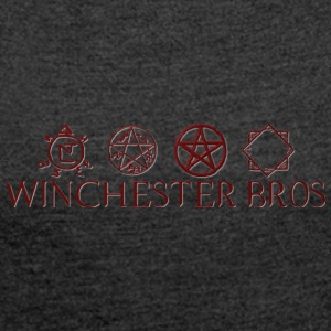 Winchester_Bros - Women's T-shirt with rolled up sleeves