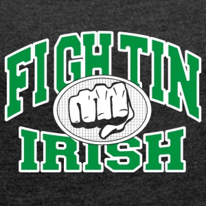 Fighting Irish - Maglietta da donna con risvolti