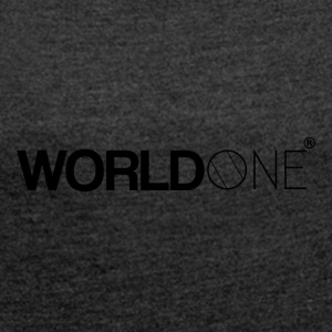 © WorldOne - Women's T-shirt with rolled up sleeves