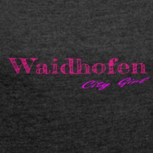 Waidhofen - Women's T-shirt with rolled up sleeves