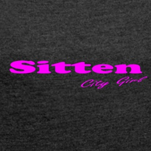 Sitten_ - Women's T-shirt with rolled up sleeves