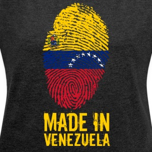 Made in Venezuela / Made in Venezuela - Women's T-shirt with rolled up sleeves