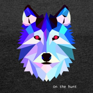 On the hunt - Women's T-shirt with rolled up sleeves