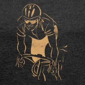 Cycling Race Racer - Women's T-shirt with rolled up sleeves