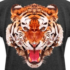 tiger low - Women's T-shirt with rolled up sleeves