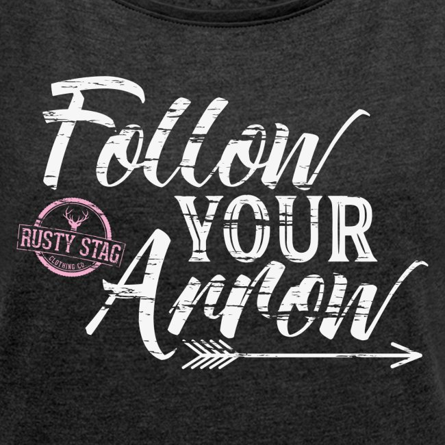Follow Your Arrow in White