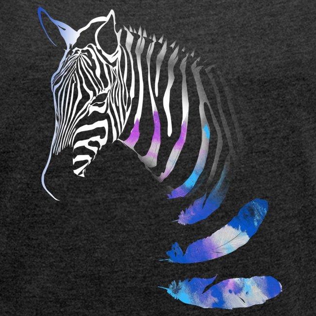 Vibrant Zebra