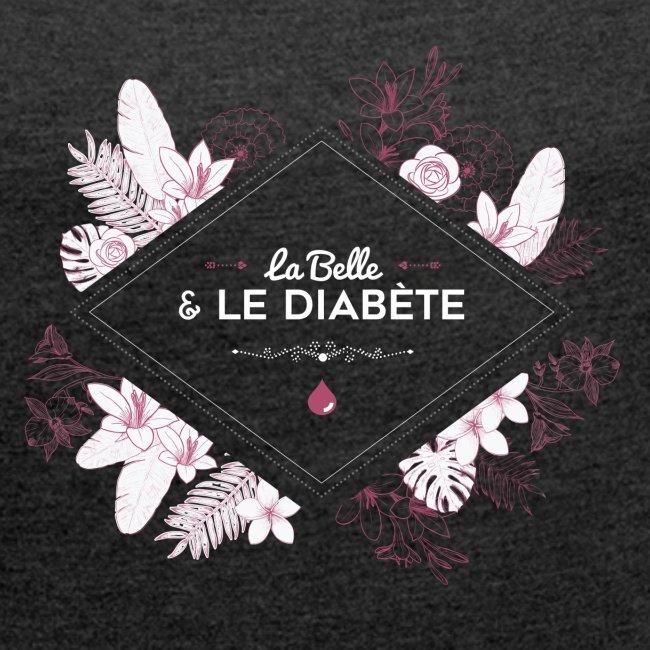La Belle & le Diabète - Vieux rose