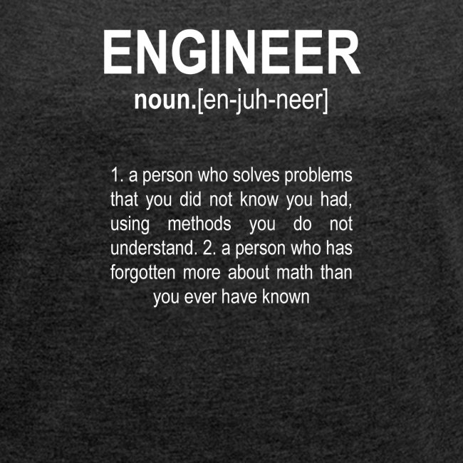 """Engineer"" Def. 2"